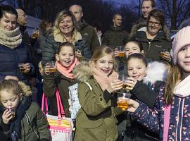 Klein feestje aan de Madepolderweg