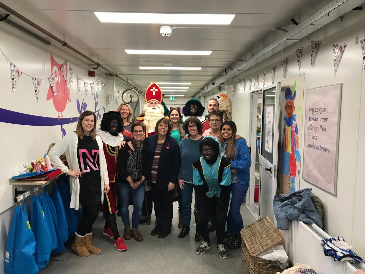 Sinterklaas bezoekt Kindcentrum Vroondaal