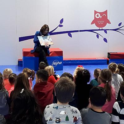 Wethouder Saskia Bruines bezoekt Kindcentrum Vroondaal!